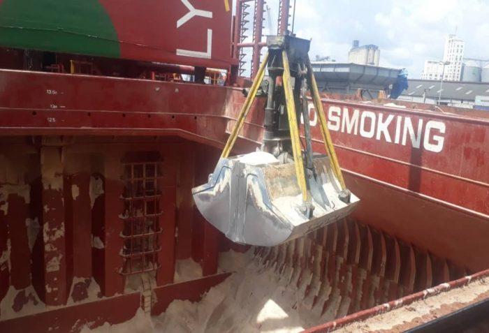 Cargo at Dar es salaam Port