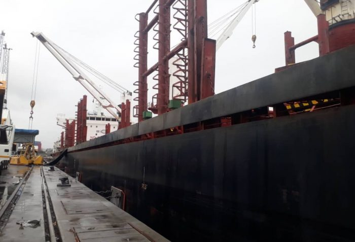 Ship at Dar es salaam Port