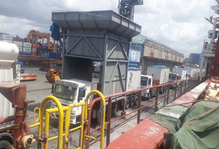 Vehicles at Dar es salaam Port