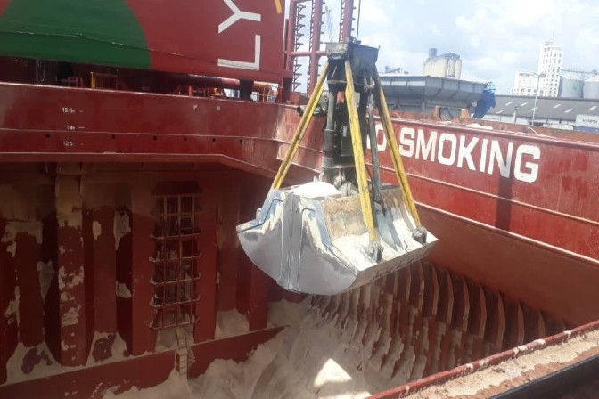 cargo discharge