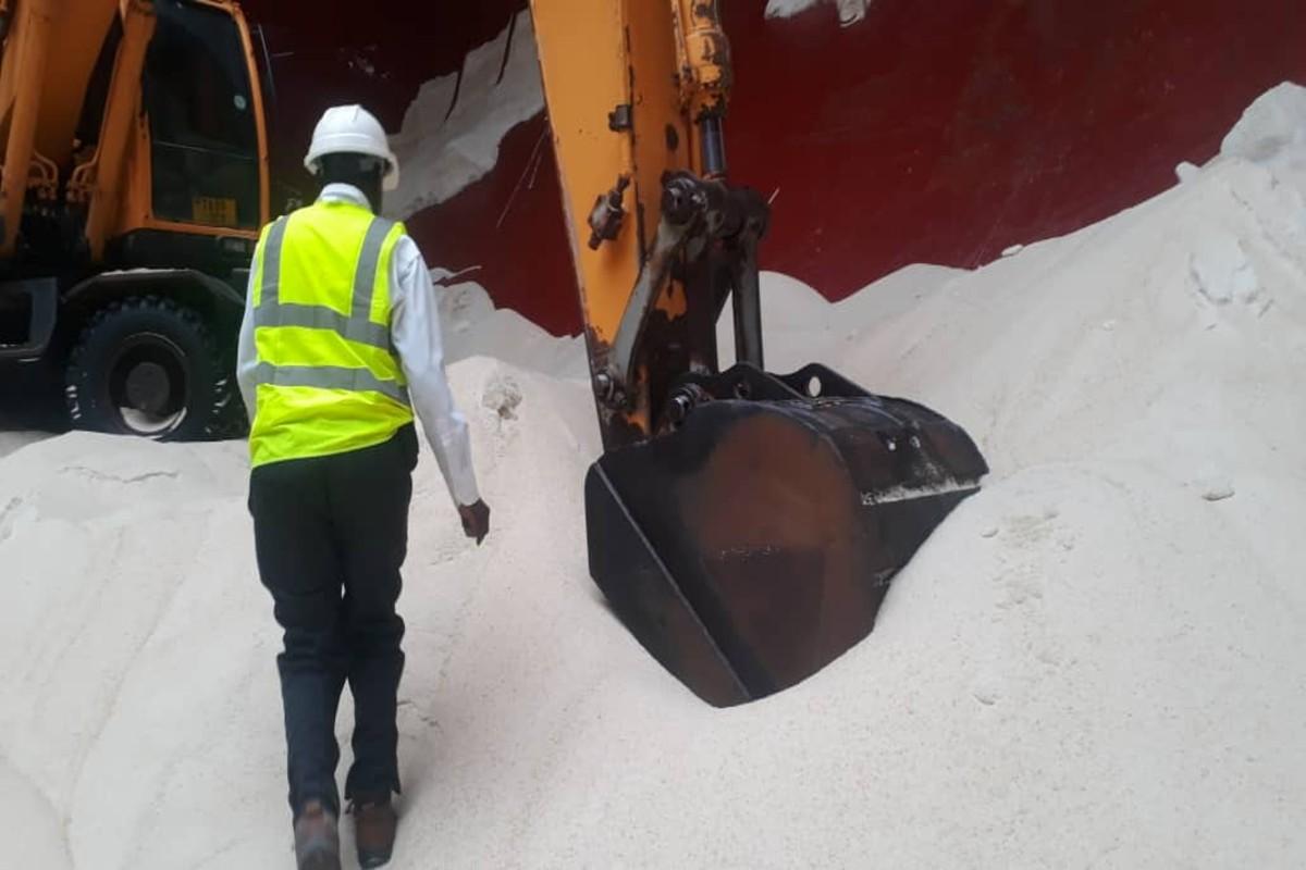 mitcl staff on duty at Dar es salaam Port